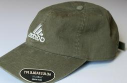 Adidas Originals Olive Green Relaxed Strapback Dad Hat Adjus