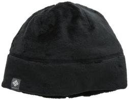 Columbia Adult Pearl Plush Heat Beanie, Black, Small/Medium