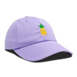DALIX Pineapple Dad Hat Cotton Twill Baseball Cap Premium St