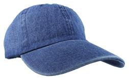 Gelante Plain denim Adjustable Baseball Caps Jean Dad Hats W