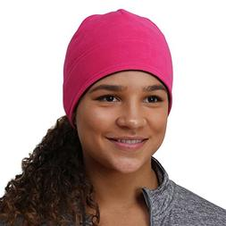 TrailHeads Women's Power Ponytail Hat - berry / cold smoke g
