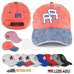 puerto rico dad hat cotton pr hat