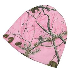 CTM RealTree AP Womens Cotton 8 Inch Camo Knit Stocking Cap,