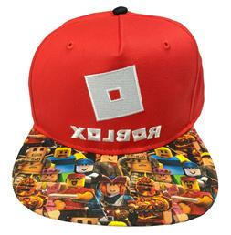 Roblox Hat Boys Character Snapback for Kids