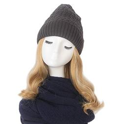 5b702c74f1ca6 BT-6020a-2-0660 Solid Messy Bun Beanie T... By Funky Junque. USD  24.99.  STfantasy Women Slouchy Winter Knit Beanie Hat with Ombre Bl