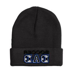 Soccer Dad  Embroidery Embroidered Beanie Skully Hat Cap