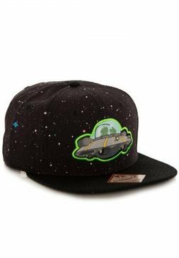 ✅ Rick And Morty Spaceship Snapback Hat NEW! 🚚 FAST SHI