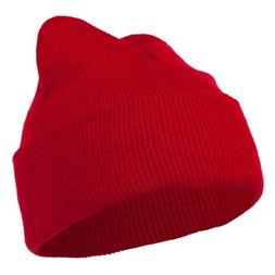 Super Stretch Knit Watch Cap Beanie - Red