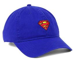 Superman Mens DC Comics Justice League Blue Cotton Dad Hat A