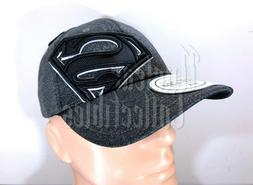 SUPERMAN Official Licensed Bioworld Flex Fit Hat OSMF NEW W/