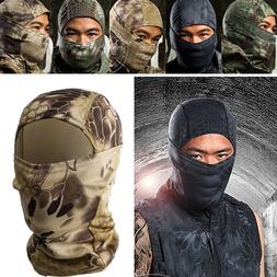 Tactical Quick-Drying Camouflage Scarf Hood Full Face Mask C