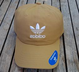 ADIDAS TEAM RELAXED GOLD STRAP UNISEX WOMENS SPORT DAD SNAPB