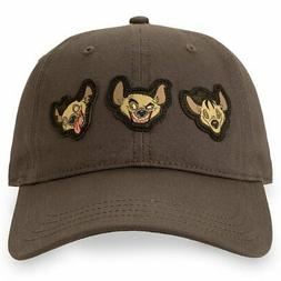 DISNEY THE LION KING HYENAS DAD HAT NEW!