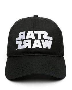 The Star Wars Logo Dad Hat Embroidered, Classic Black Cap