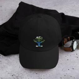 Unisex Flat Best Embroidery Alien 👽✌ Dad Hat Gorras Sna
