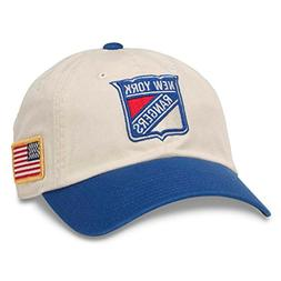 American Needle United Slouch NHL Team Casual Dad Hat New Yo