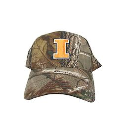 University Illinois Fighting Illini Woodland Camo College Te