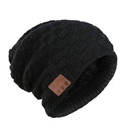 Muscleboon Upgraded Unisex Knit Bluetooth Beanie Hat Headpho