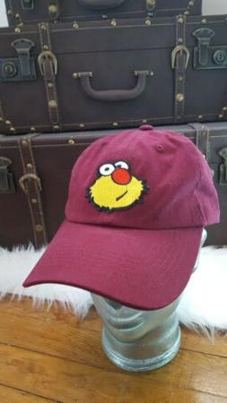 UTWB Ron Burgundy Hat. Maroon Dad Hat. Burgundy Dad Hat.Maro