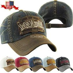 aac21057a Vintage Distressed Hat Baseball Cap - Ro...