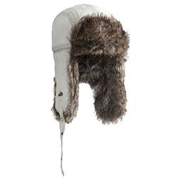 Screamer Vodka Bar Trapper Hat White