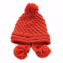 LLSai-Women's Pure Color Winter Knit Hat , Yellow