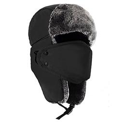 Mysuntown Unisex Winter Trooper Hat Hunting Hat Ushanka Ear