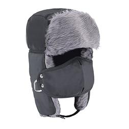 Prooral Unisex Winter Trooper Trapper Hat Hunting Hat Ushank