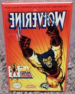 Wolverine Nintendo NES Vintage Game Box 2x3 Fridge Locker MA
