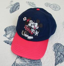 Disney Parks Women's Mickie/Minnie 'Kissing' XOXO Visor Hat