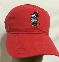 Disney Women's Minnie Mouse Washed Baseball Cap, Adjustable