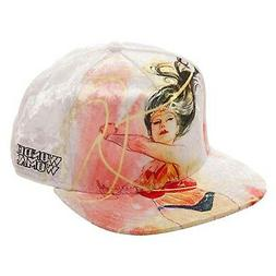 Wonder Woman Velvet Adjustable Snapback Hat NEW Baseball Cap