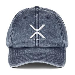 XRP The Base Ripple Crypto currency Dad Cap Embroidery